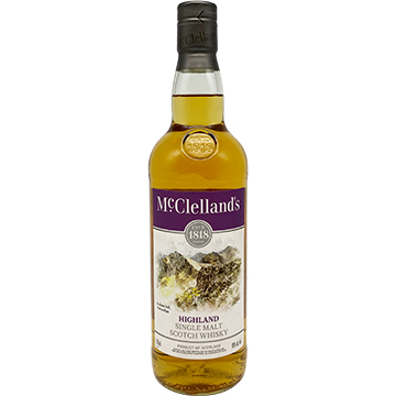 McClelland's Highland Single Malt Scotch Whiskey