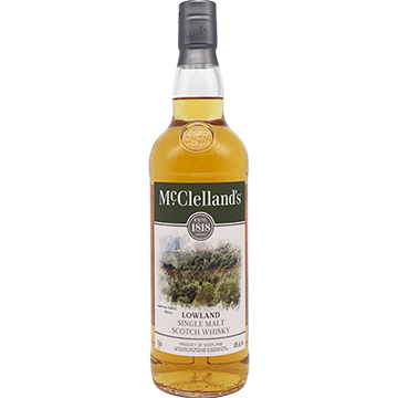 McClelland's Lowland Single Malt Scotch Whiskey