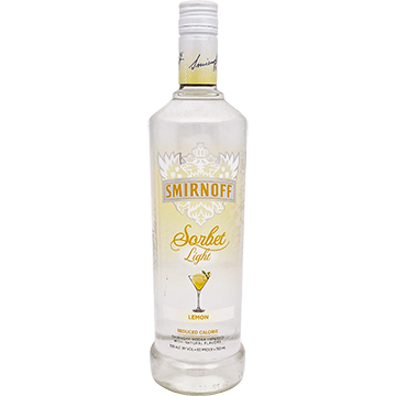 Smirnoff Sorbet Light Lemon Vodka