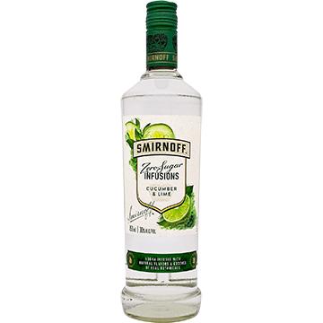 Smirnoff Zero Sugar Infusions Cucumber & Lime Vodka