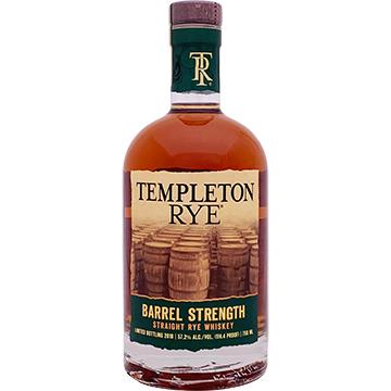 Templeton Barrel Strength Rye Whiskey 2018