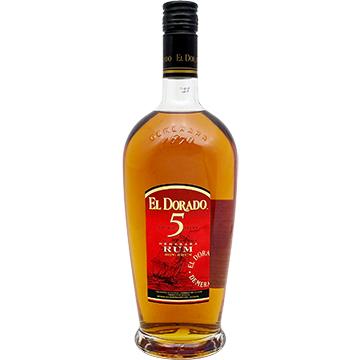 El Dorado 5 Year Old Cask Aged Rum