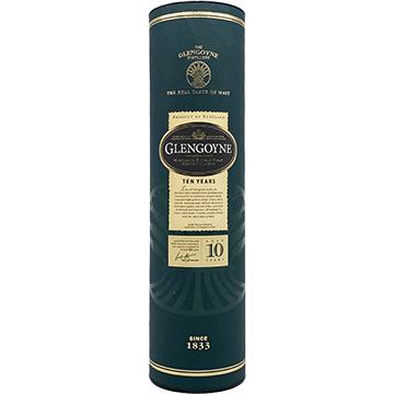 Glengoyne 10 Year Old Single Malt Scotch Whiskey