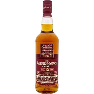 Glendronach Original 12 Year Old Single Malt Scotch Whiskey