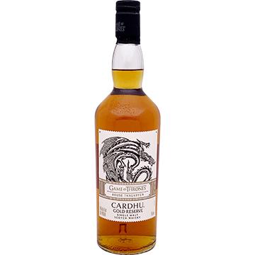Cardhu Gold Reserve Game of Thrones House Targaryen Single Malt Scotch Whiskey