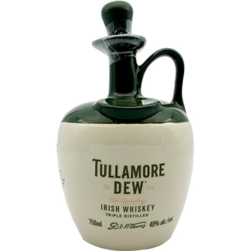 Tullamore Dew Crock Irish Whiskey