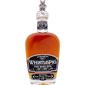 WhistlePig The Boss Hog The Black Prince Whiskey