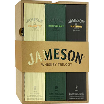 Jameson Irish Whiskey Trilogy Gift Pack