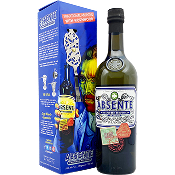 Absente Liqueur with Van Gogh Spoon