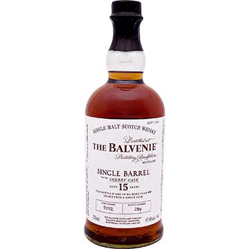 The Balvenie 15 Year Old Single Barrel Sherry Cask Single Malt Scotch Whiskey