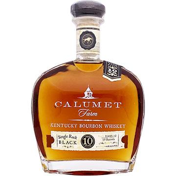 Calumet Farm Single Rack Black 10 Year Old Bourbon Whiskey