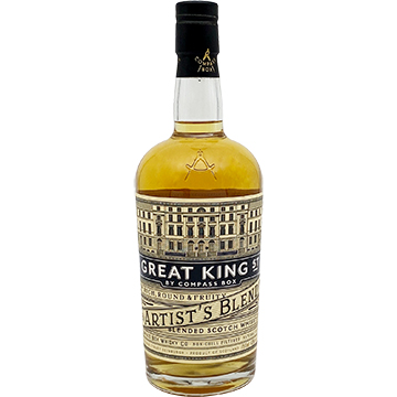 Compass Box Great King Street Artist's Blended Scotch Whiskey