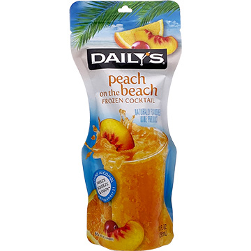 Daily's Peach on the Beach Frozen Cocktail