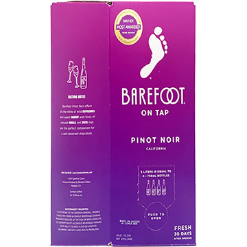 Barefoot On Tap Pinot Noir