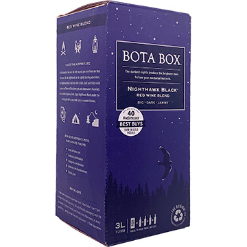 Bota Box Nighthawk Black Red Blend