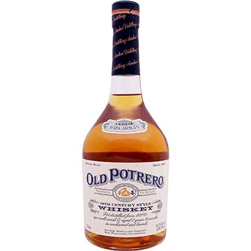 Old Potrero 18th Century Style Single Malt Rye Whiskey