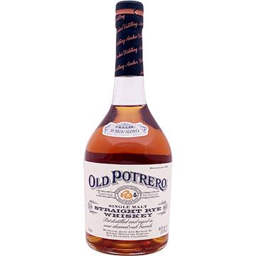 Old Potrero Single Malt Straight Rye Whiskey