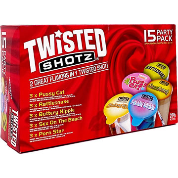 Twisted Shotz Sexy Party Pack