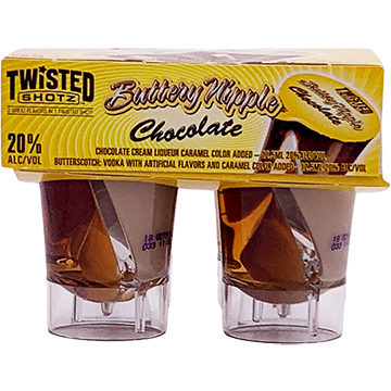Twisted Shotz Chocolate Buttery Nipple