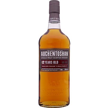 Auchentoshan 12 Year Old Single Malt Scotch Whiskey