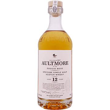 Aultmore 12 Year Old Single Malt Scotch Whiskey