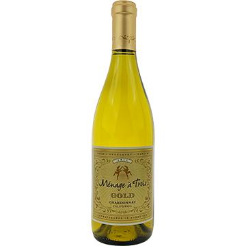 Menage a Trois Gold Chardonnay 2017