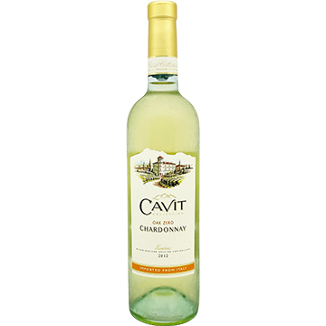 Cavit Collection Oak Zero Chardonnay 2012
