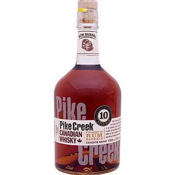 Pike Creek 10 Year Old Rum Barrel Finished Canadian Whiskey