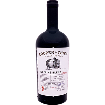 Cooper & Thief Bourbon Barrel Aged Red Blend 2016