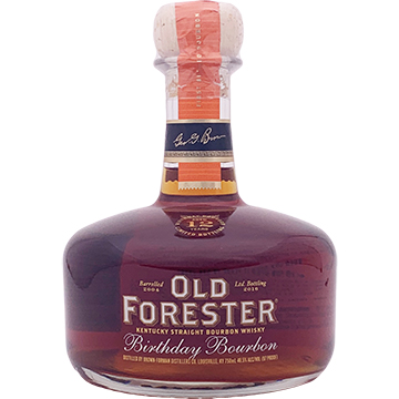 Old Forester 12 Year Old 2016 Birthday Bourbon Whiskey