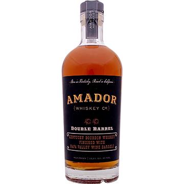 Amador Double Barrel Bourbon Whiskey