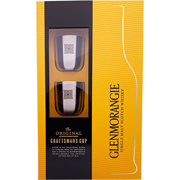 Glenmorangie Original 10 Year Old Single Malt Scotch Whiskey Craftman's Cup Gift Pack