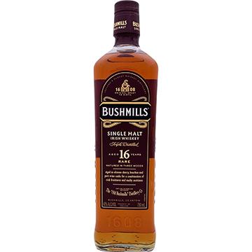 Bushmills 16 Year Old Single Malt Irish Whiskey