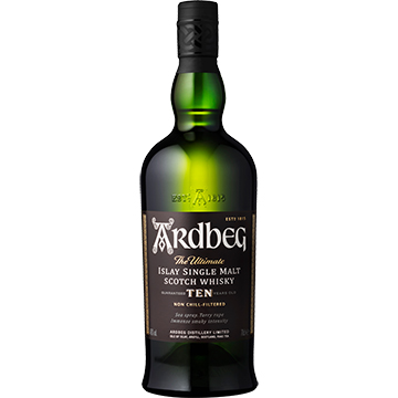 Ardbeg 10 Year Old Islay Single Malt Scotch Whiskey