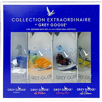 Grey Goose Vodka Extraordinaire Collection Gift Set
