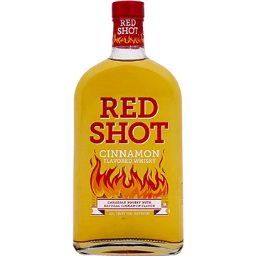 Red Shot Cinnamon Flavored Whiskey