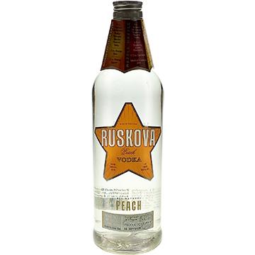 Ruskova Peach Vodka