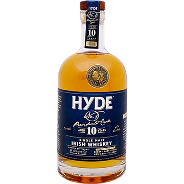 Hyde No. 1 President's Cask 10 Year Old Single Malt Irish Whiskey