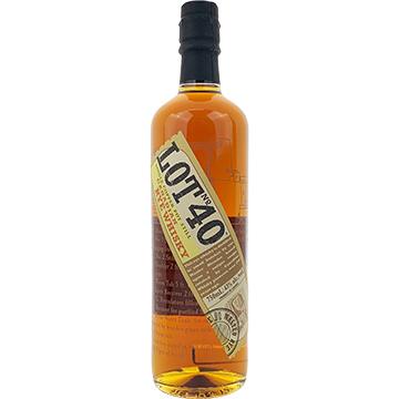 Lot 40 Canadian Rye Whiskey