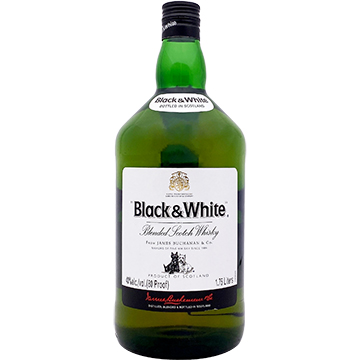 Black & White Blended Scotch Whiskey