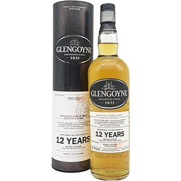 Glengoyne 12 Year Old Single Malt Scotch Whiskey