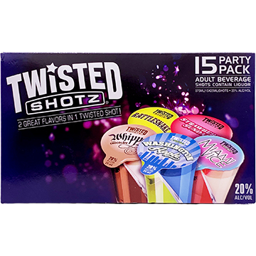 Twisted Shotz Traditional Party Pack