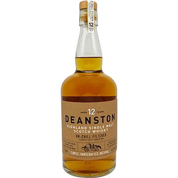 Deanston 12 Year Old Single Malt Scotch Whiskey