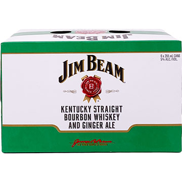 Jim Beam Bourbon Whiskey & Ginger Ale