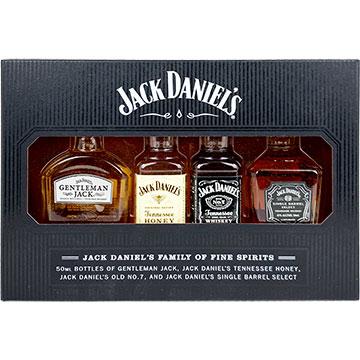 Jack Daniel's Family of Fine Spirits Gift Pack