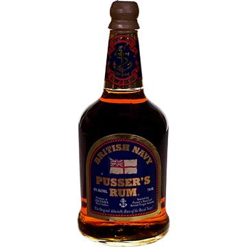 Pusser's British Navy Blue Label Rum