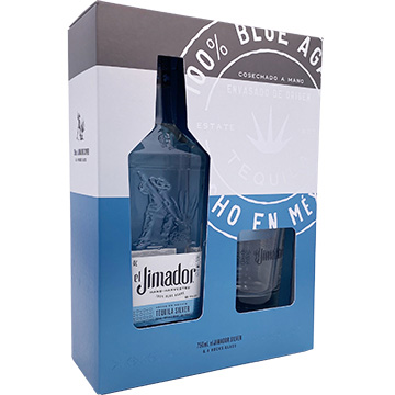 El Jimador Blanco Tequila Gift Set with Rock Glass