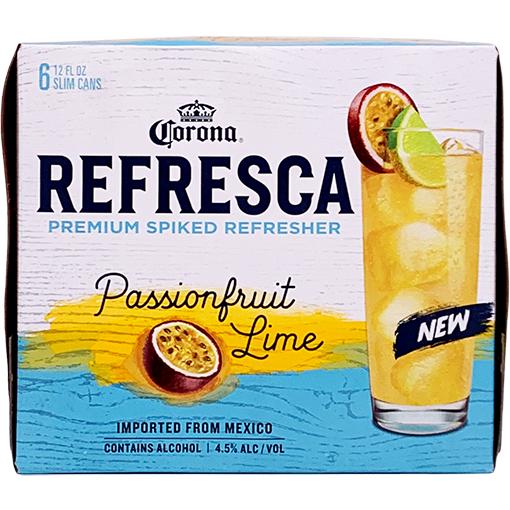 Corona Refresca Passionfruit Lime Gotoliquorstore