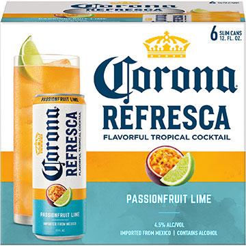 Corona Refresca Passionfruit Lime