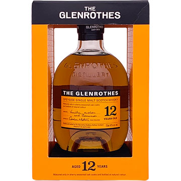 The Glenrothes 12 Year Old Speyside Single Malt Scotch Whiskey